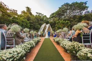 Qual a melhor estação para realizar uma cerimônia ao ar livre?